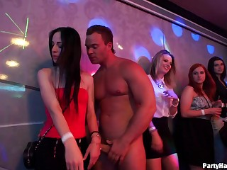 Couple be incumbent on male strippers get unlucky and fuck a lot be incumbent on hotties