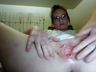 Slutty solo relating to with gaping snatch