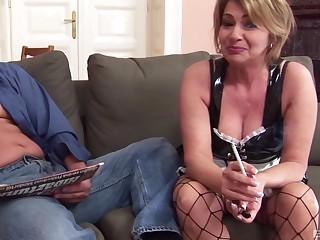 Rough shacking up between a horny toff and anal loving Kristina Vrga