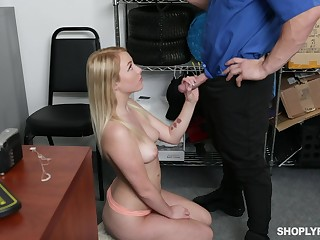 Hot and sexy ex GF of detective is properly fucked in his office
