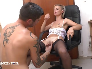 La France A Poil - The Small Titted Teacher Approximately Stocking